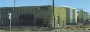 Mesa Environmental Oil Recycling Facility
